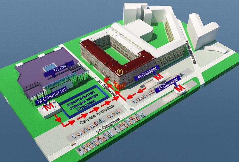 Схема проезда 3D