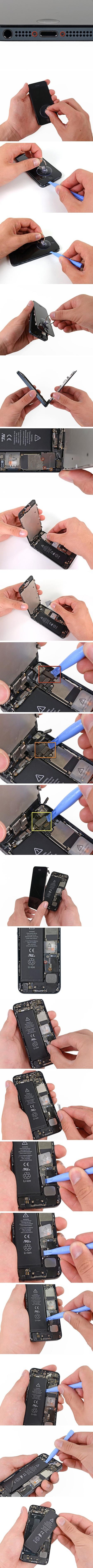 Как заменить аккумулятор на iPhone 5