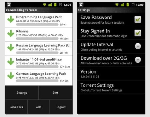 android bit torrent